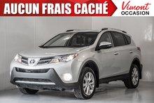 2014 Toyota RAV4 2014+LIMITED+CUIR+NAV+CAMERA RECUL+TOIT