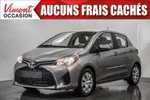2015 Toyota Yaris LE+A/C+BLUETOOTH+GR ÉLECTRIQUE COMPLET