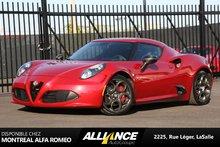 Alfa Romeo 4C Launch Edition 2015