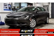 Chrysler 200 LX, BAS MILLAGE, COMME NEUF, WOW!!! 2016
