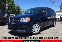 2014 Dodge Grand Caravan SXT 69$/SEM STOW N' GO 1 SEUL PROPRIÉTAIRE