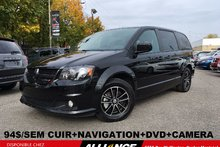 Dodge Grand Caravan SXT PREMIUM+94$/SEM CUIR+NAV+DVD+CAMERA RECUL 2017