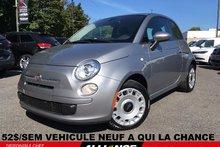 Fiat 500 POP 52$/SEM VEHICULE NEUF!!! AUTOMATIQUE 2016