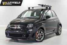 2016 Fiat 500 Turbo Rack de toit inclus!
