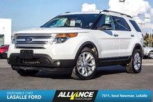 Ford EXPLORER XLT XLT-GPS-CAMERA-BANC CHAUFF-TOIT PANO-BLUETOOTH 2013