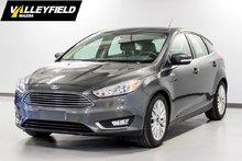 2016 Ford Focus Titanium, système de navigation, siège en cuir!