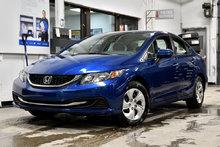 2015 Honda Civic Sedan LX,CAMERA RECUL,BLUETOOTH,A/C