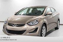 2014 Hyundai Elantra BALANCE DE GARANTIE, DEMARREUR A DISTANCE