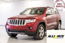 2012 Jeep Grand Cherokee OVERLAND 4 PNEUS D'HIVER INCLUS !*