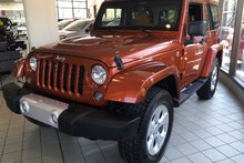 2014 Jeep WRANGLER SAHARA SAHARA 119$/SEM NAVIGATION,CUIR,A/C,2 TOIT