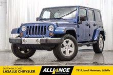 Jeep Wrangler Unlimited SAHARA | 4X4 | TOIT REGIDE ET SOUPLE | 2010