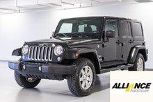 Jeep Wrangler Unlimited SAHARA 4 PNEUS D'HIVER INCLUS 2016