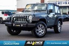 Jeep Wrangler SPORT | TOIT SOUPLE | 2014