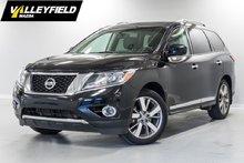 Nissan Pathfinder Platinum 7 places, DVD, sièges climatisé! 2014