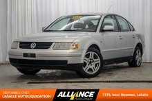 2000 Volkswagen Passat GLX | CUIR | SIEGES CHAUFFANTS | TOIT | 2.8L