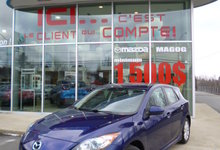 Mazda 3 2012 GS-SKY, BLUETOOTH, CUIR, SIÈGES CHAUFFANT