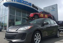 Mazda Mazda3 2013 GX*MANUELLE*AIR CLIMATISE*GROUPE ELECTRIQUE*AUX*MP