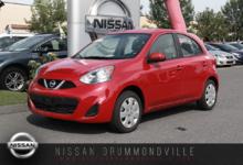 Nissan Micra 2016 SV - SPÉCIAL DÉMO - PRIX LIQUIDATION !!!