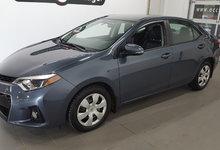 Toyota Corolla 2015 S, bluetooth, caméra recul, sièges chauffants