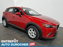 2016 Mazda CX-3 GS TOIT OUVRANT  - A/C - Cuir - Groupe Électrique
