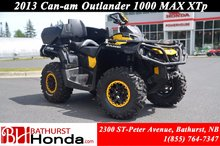 2013 Can-Am Outlander 1000 MAX XTp