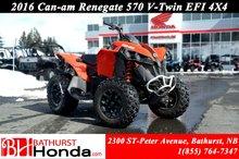 2016 Can-Am Renegade 570