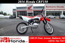 2016 Honda CRF150F