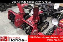 2014 Honda HSS724TCD