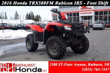 2016 Honda TRX500 Rubicon  IRS