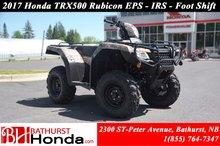 2017 Honda TRX500 Rubicon IRS EPS