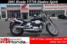 2001 Honda VT750 Shadow Spirit