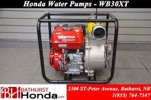 2016 Honda WB30XT