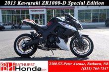 2013 Kawasaki ZR1000 Special Edition