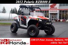 Polaris RZR 800 S 2012
