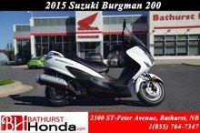 Suzuki Burgman 200 2014