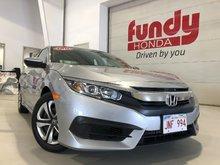 2016 Honda Civic Sedan LX w/backup cam and heated front seats
