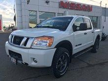 2015 Nissan Titan Pro 4X   $246 BI WEEKLY