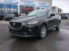 Mazda CX-3 GX, NAVIGATION, CAMERA, A/C, BLUETOOTH, GR ÉLECTRI 2016