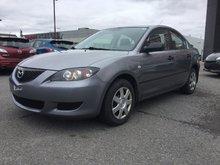 Mazda Mazda3 JAMAIS ACCIDENTÉ, UN SEUL PROPRIÉTAIRE 2006