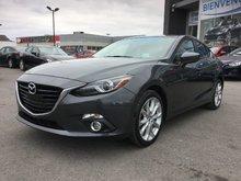 Mazda Mazda3 GT-SKY, CUIR, NAVIGATION, TOIT, A/C BIZONE, MAGS 2014