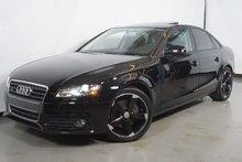 Audi A4 2.0T QUATTRO CUIR TOIT SIEGE CHAUFFANT 2012