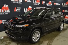 Jeep Cherokee LIMITED TOIT PANORAMIQUE GROUPE GRAND LUXE 2017
