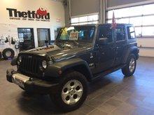 Jeep WRANGLER SAHARA NAVI/2 TOIT/GARANTIE PROLONGÉ/147$SEM.TOUT INLCUS 2014