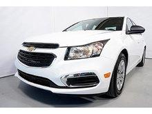 2015 Chevrolet Cruze A/C LS BLUETOOTH AUTOMATIQUE