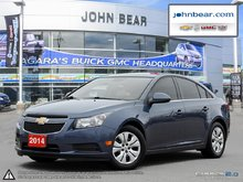 2014 Chevrolet Cruze 0% FINANCING AVAIL, BLUETOOTH,