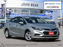 2016 Chevrolet Cruze LT ONE OWNER VEHICLE JUST TRADED