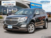 2017 Chevrolet Equinox LT w/2FL  HEATED SEATS AND MUCH MORE