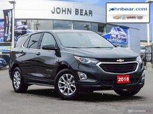 2018 Chevrolet Equinox LT LT REAR VISION CAMERA, HEATED SEATS