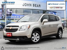 2012 Chevrolet Orlando 1LT NO INTEREEST & NO PAYMENTS FOR 6 MONTHS