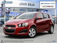 2014 Chevrolet Sonic LS ONLY 28000 KMS!!, 0.9% FINANCING